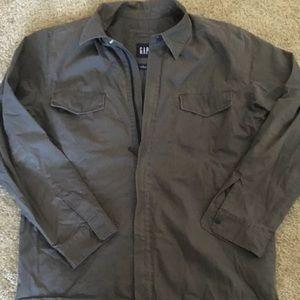 Gap Hunter Green Jacket. Size Large. EUC
